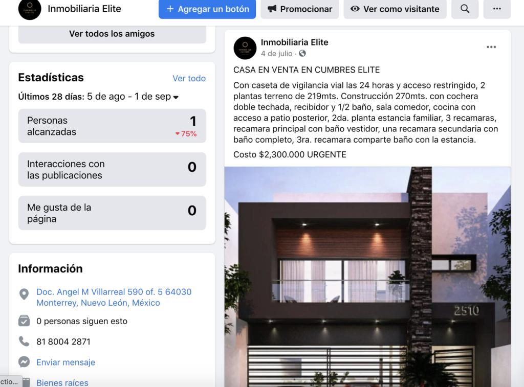 Venta de Casas por internet